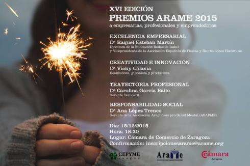 Premios Arame 2015